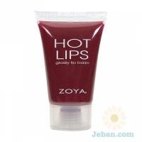 Hot Lips glossy lip Balm