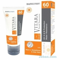 Facial Sunscreen SPF 60 Cream