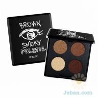 Brown Smoky Palette
