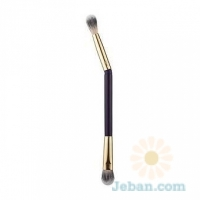 Rule Bender Double-Ended Bamboo Eyeshadow Brush