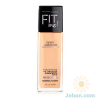 Fit Me Foundation : Dewy + Smooth