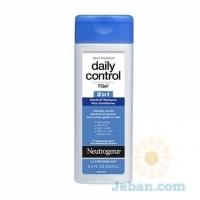 T/Gel® : Daily Control® 2-In-1 Dandruff Shampoo Plus Conditioner