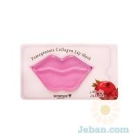 Pomegranate Collagen : Lip Mask