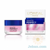 White Perfect Total Recover Sleeping Mask