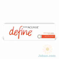 1 Day Acuvue Define : Natural Shine