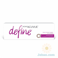 1 Day Acuvue Define : Vivid Style