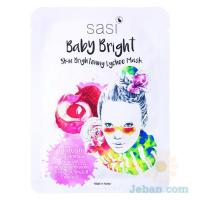 Baby Bright Skin Brightening Lychee Mask
