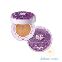 Pearly Night Ink lasting Lavender Cushion