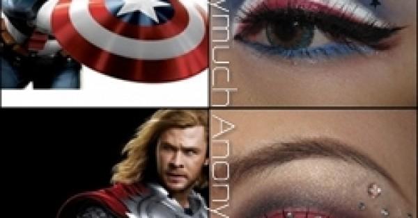[ขี้เห่อ] My Avengers Eye Makeup!
