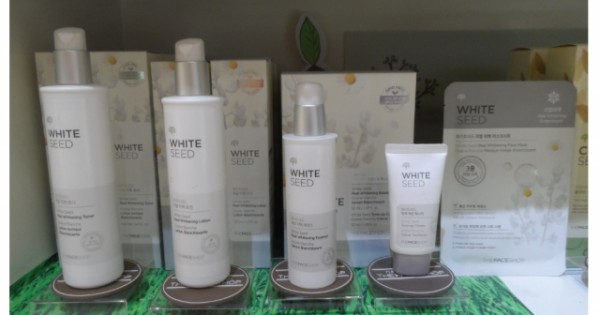 REVIEW ผลิตภัณฑ์ WHITE SEED จาก THEFACESHOP หลังทดลองใช้ 10 วัน