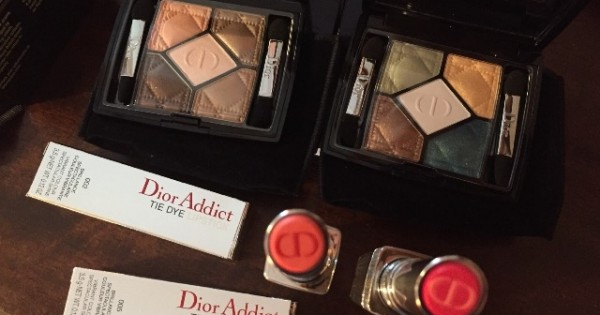 ขอเห่อ!! Dior Tie Dye 2015 Summer Collection..มาแล้วกับดิออร์คอลเลคชั่นใหม่ล่าสุด!!