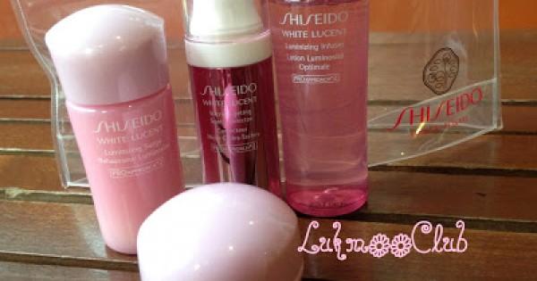 มาลอง เซท นี้กันค่ะ ใน 7 วันผลจะเป็นไงบ้างตามมาได้เลย กับ Shiseido White Lucent