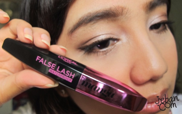 299dfdefed0 REVIEW : L'OREAL FALSE LASH MISS MANGA