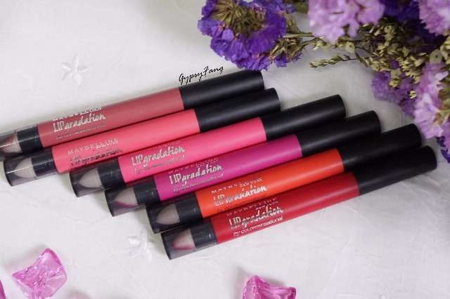 Lip Review Maybelline Gradation Review Maybelline Lip