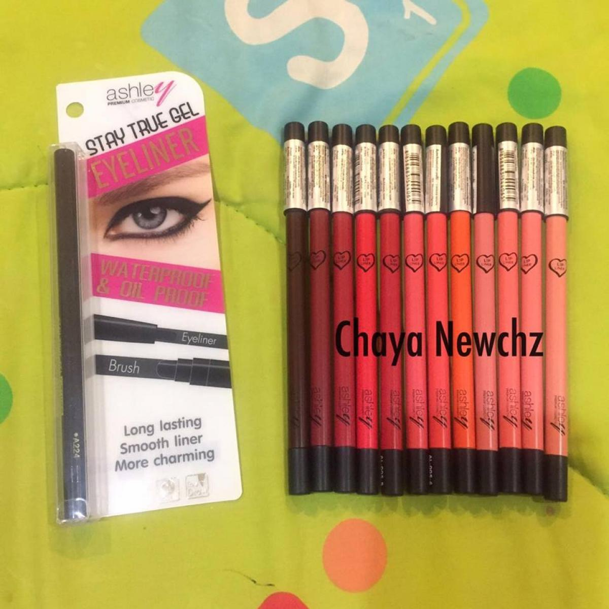 รีวิว Review Ashley Color Stay Lip Liner Pencil :)