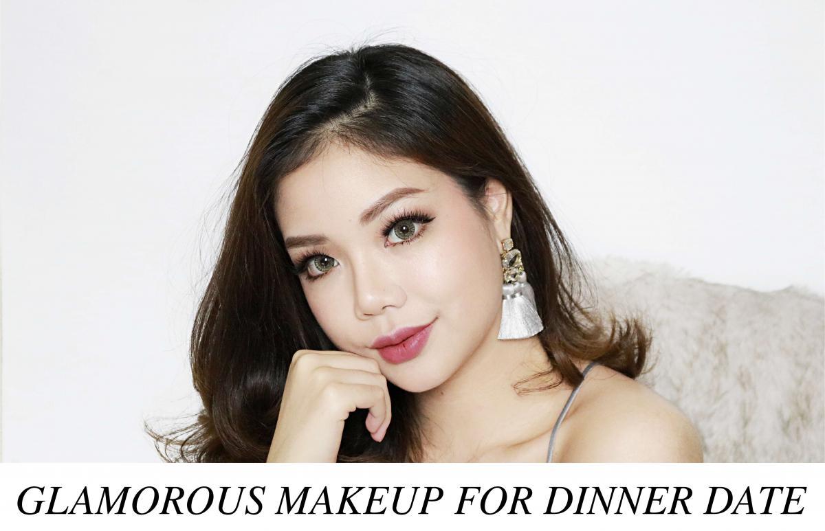HOLIDAY MAKEUP : GLAMOROUS MAKEUP FOR DINNER DATE เตรียมตัวแต่งหน้าไปดินเนอร์ฉลองปีใหม่กันค่า