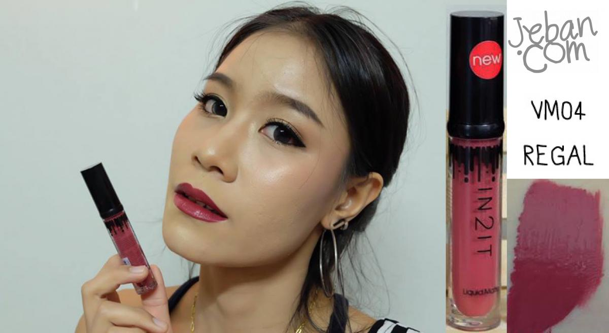 Lipstick Review In2it Swatch amp; Liquid Matte
