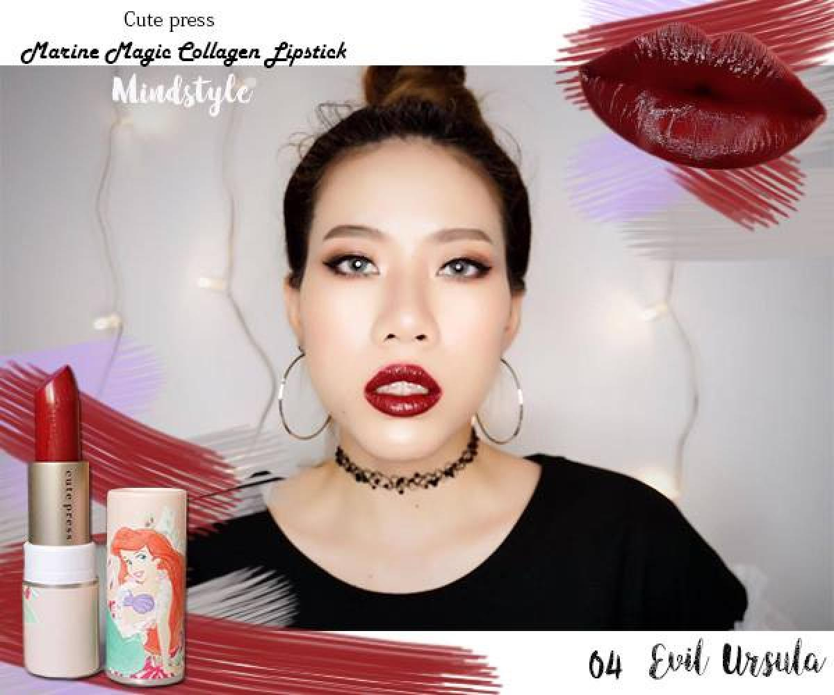 Cute Mermaid Style - Press 5 2 Looks Lip แบบฉบับ With Review