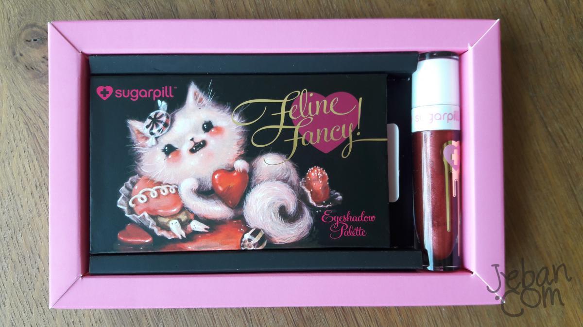 พาเลทแมวเหมียว sugarpill feline fancy valentine's collection