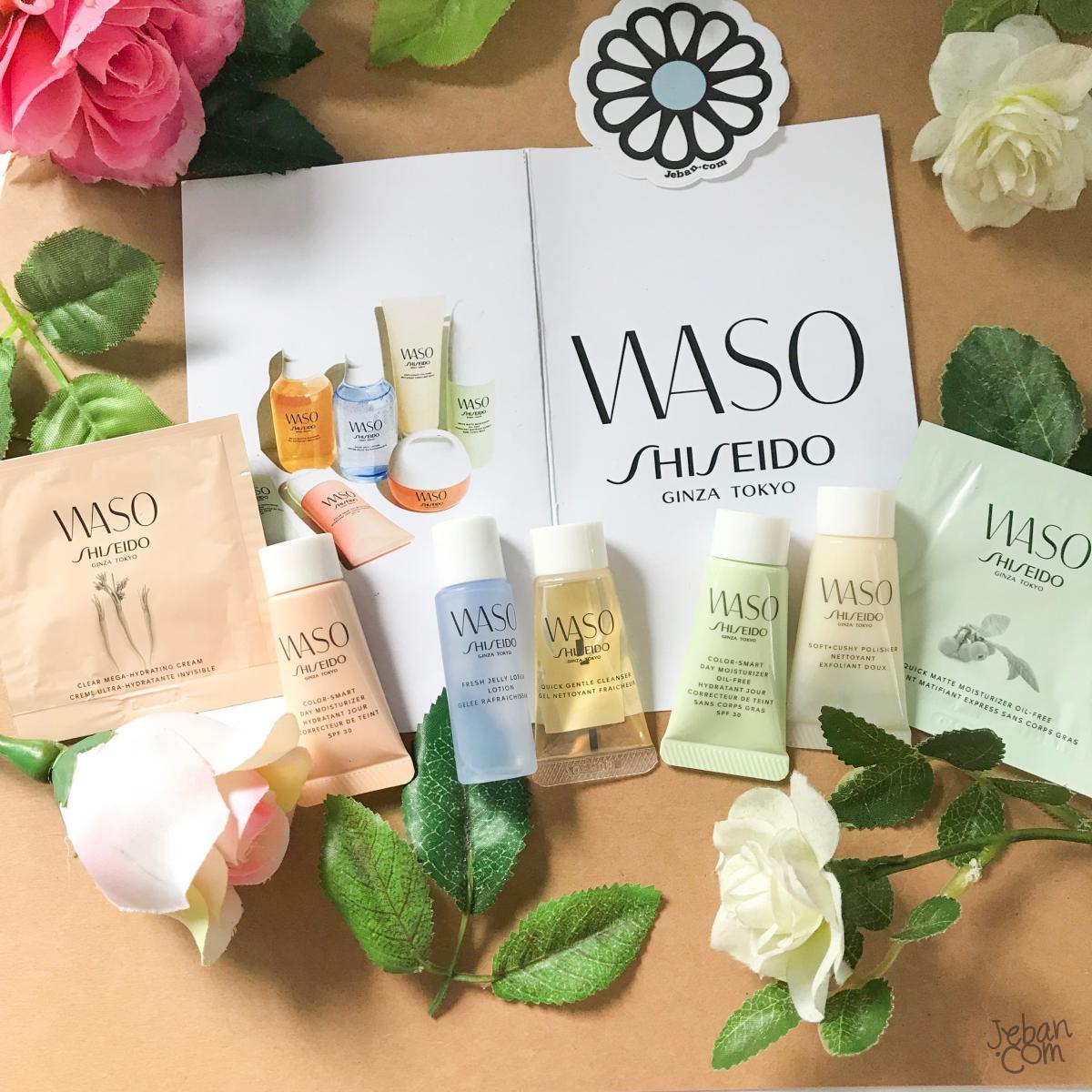 [REVIEW By Fernn] อินหนักมากกับ WASO by Shiseido พลังแห่งพืชพรรณจากธรรมชาติสู่ผิว