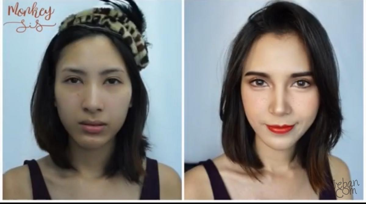 (How to) Asian to European Makeup แต่งหน้าเป็นสาวยุโรปสไตล์ Emma Watson