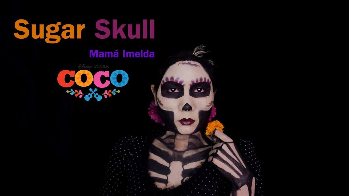 แต่งหน้า Sugar Skull Mamá Imelda จากหนังเรื่อง COCO 2017