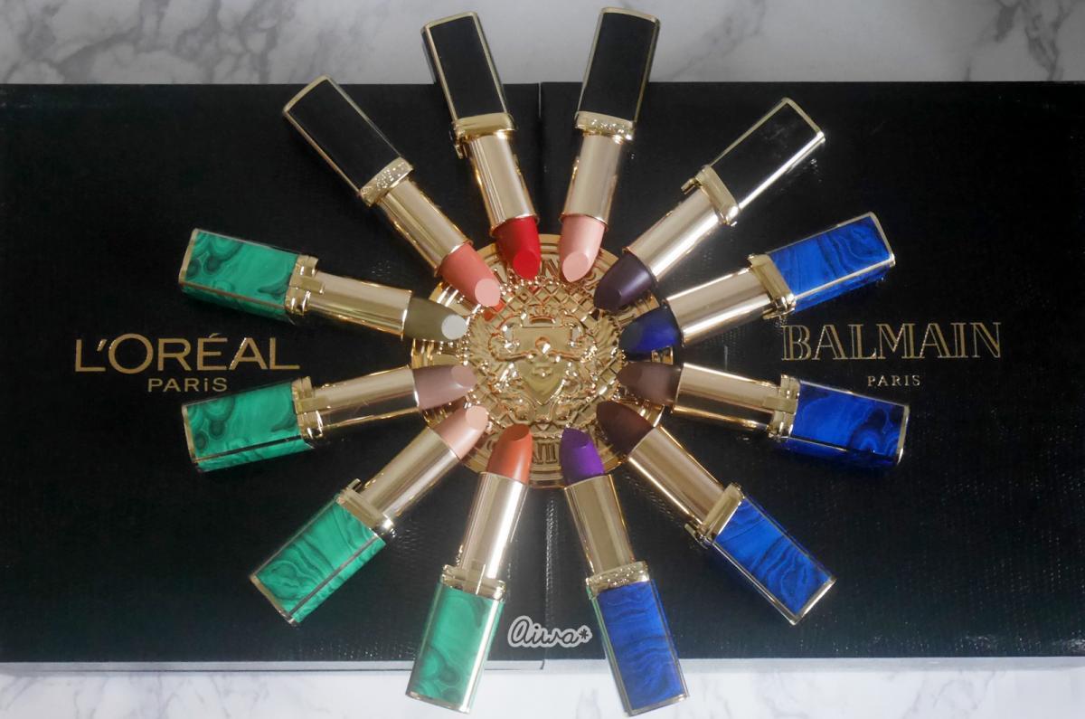 :: เห่อสุด Loreal x Balmain สวอซสี รีวิวทั้ง 12 สี พร้อมชี้เป้าสีน่าสอย ::